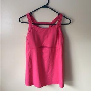 Pink Athleta Tank Top